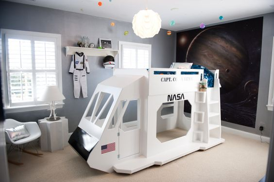 astronaut bedroom ideas - photo #32