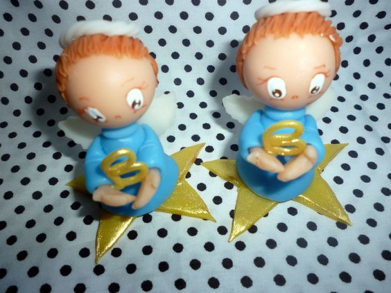 lembrança para batizado ,crisma e comunhão anjinho na cor azul, pode ser feito em outras cores .
