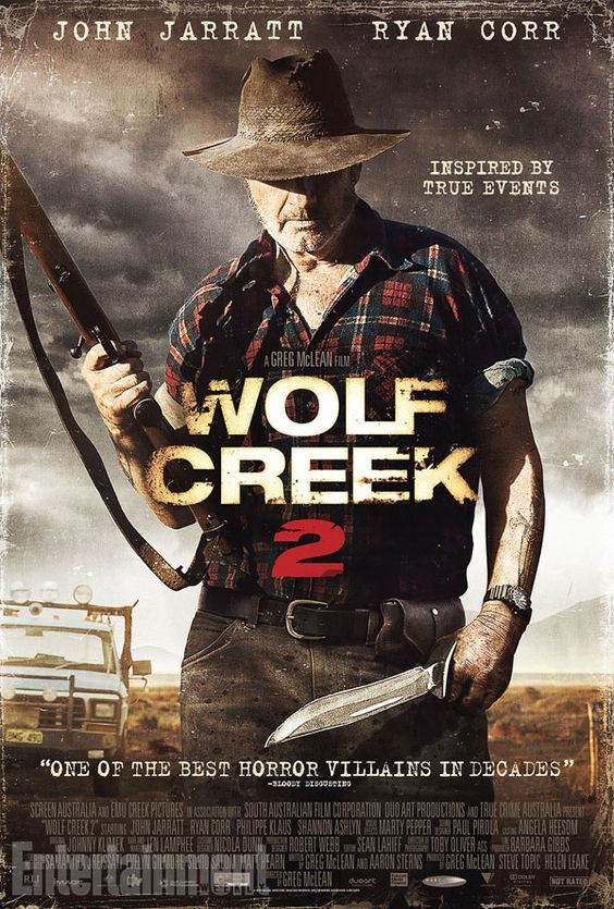 New Poster & U.S. Release Date Announced for Wolf Creek 2