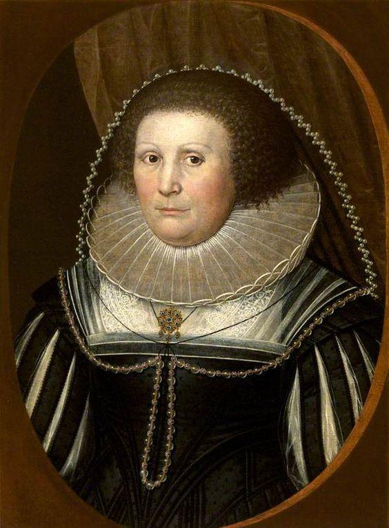 Mary Altham (1578–1647), Mrs Ralph Hawtrey by Cornelis Janssens van Ceulen(style of) Date painted: c.1630: