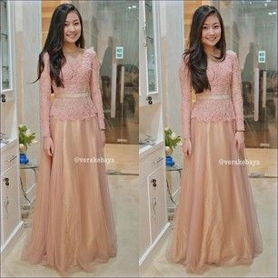 Lace dresses gold lace long tops pink and gold muslim lace dresses