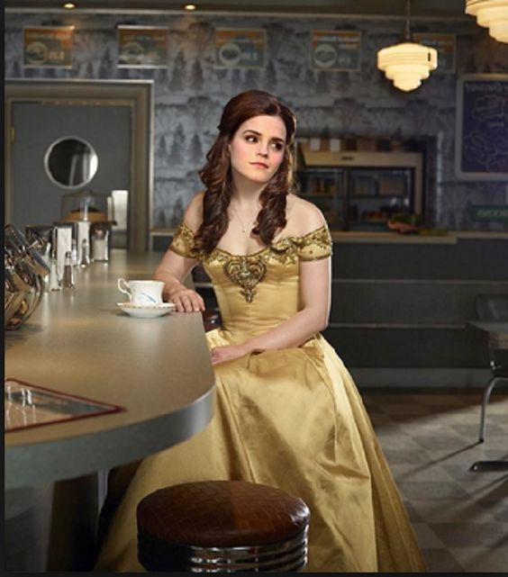 Emma Watson as Belle from Beauty in the Beast. #HarryPotter Hermione Granger all grown up!