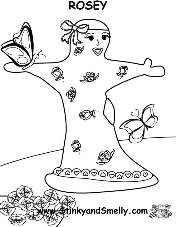 unwashed hair for coloring pages-#11