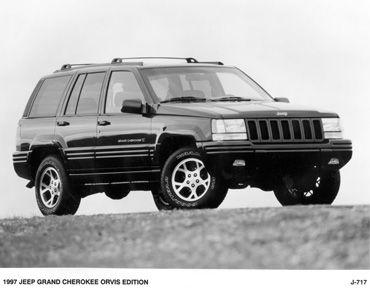 1996 Jeep Grand Cherokee.  The car I learned to drive in. Oh man, so many memories!