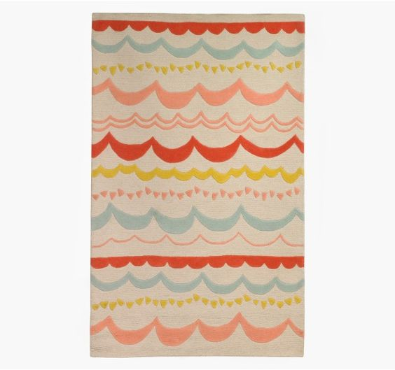garland rug by dwellstudio baby room rugs pinterest