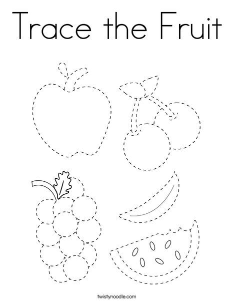 Fruits And Vegetables Tracing And Coloring Pages Coloring Worksheets For Kindergarten Fruit Coloring Pages Vegetable Coloring Pages