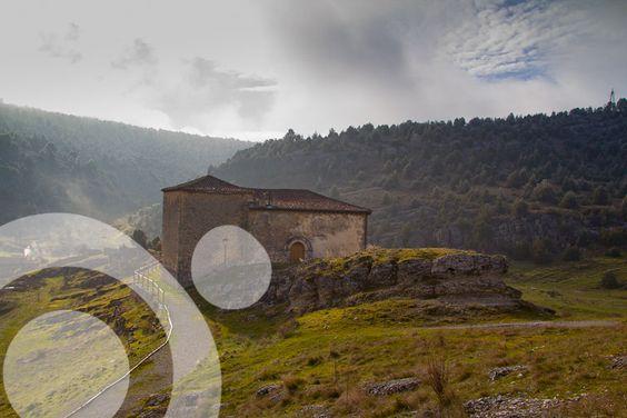 Ermita de San Juan, #Hontoria_del_Pinar. More information to plan your trip to #cañon_del_rio_lobos in www.qnatur.com