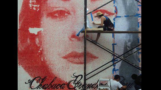 Mural hecho por Alice Wagner, ubicado en la cuadra 4 del Jr. Ica. Foto: Facebook/Municipalidad Metropolitana de Lima