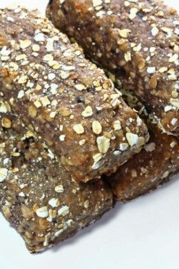 Homemade Protein Bars   No-Bake Protein Oat Bars        INGREDIENTS:    2 cups dry whole grain oatmeal  4 scoops vanilla whey protein powder  ½ cup natural peanut butter  1/3 cup of water or milk