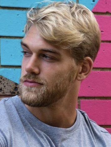Blonde augenbrauen färben männer