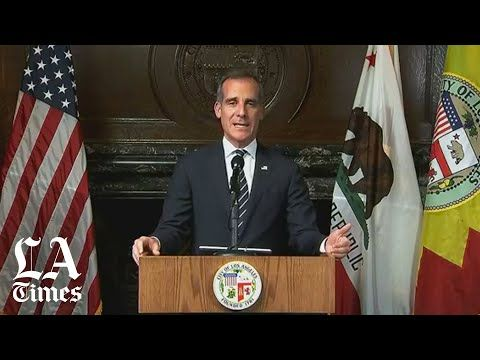 L A Mayor Eric Garcetti Announces Emergency Action To Close Bars Nightclubs Restaurants Youtube In 2020 Night Club Eric Garcetti Los Angeles Restaurants