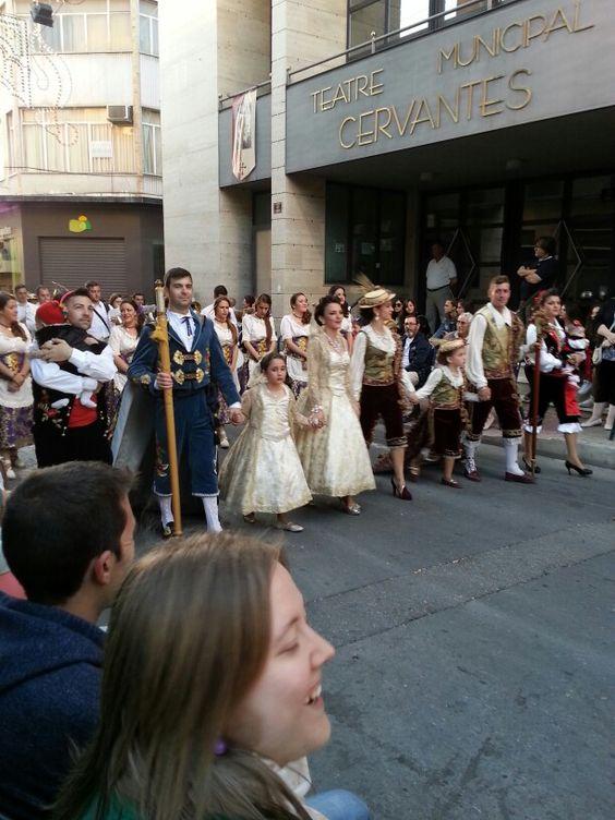 Festas Moros y cristians Petrer Spain