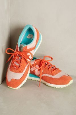 New Balance 620 Sneakers Orange #anthrofave
