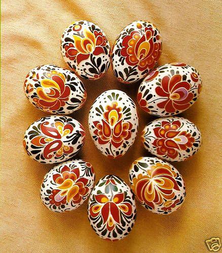 Hungarian Easter Egg Crafting Book Pysanka Pysanky Painted Egg of Magic Power   eBay: