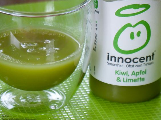 Innocent Smoothies – Geschmack geht besser! - Innocent Smoothie Test Kiwi Apfel Limette