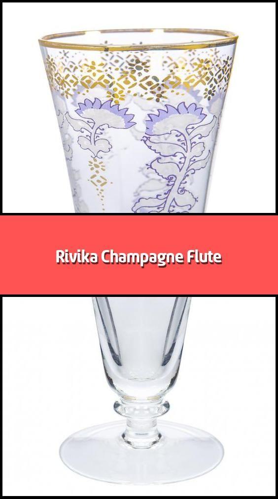 Rivika Champagne Flute In 2020 Flute Glass Champagne Flute Flute