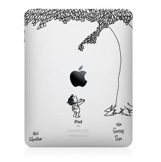 Clever iPad Cover: Tree Ipad, Ipad Cover, Iwant, The Giving Tree, Ipad Case, Favorite Books, Shel Silverstein, Shelsilverstein