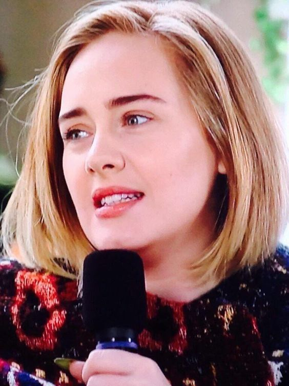 Adele during a interview at Glastonbury 2016