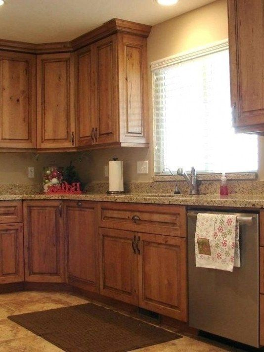 Dark Brown Kitchen Cabinet Wall Color Inspirational Ideas Colo Wall Cabinets Kit Brown Cabinet C In 2020 Green Kitchen Decor Brown Kitchens Brown Kitchen Cabinets