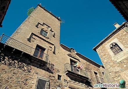 Palacio del Comendador Alcuescar.Caceres Spain.