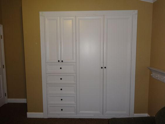 Closet Dresser Built Ins And Closet On Pinterest