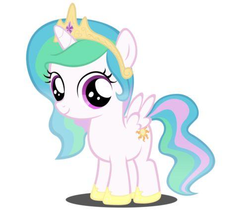 תוצאת תמונה עבור my little pony princess celestia baby