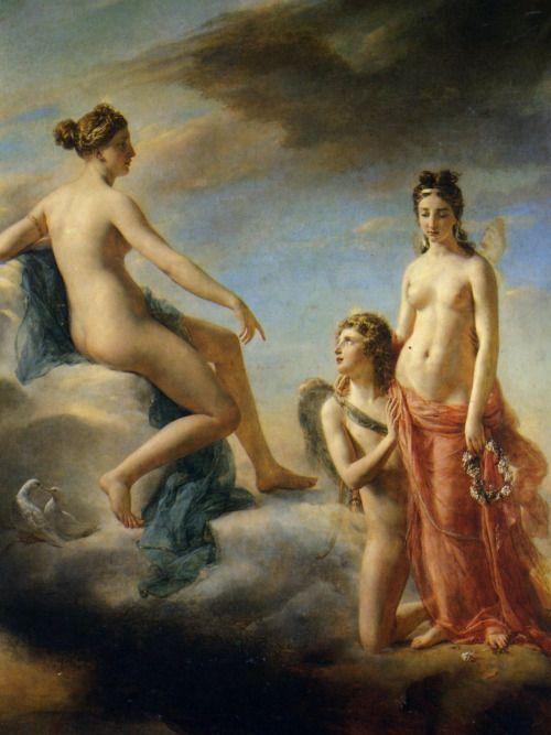 Georges Rouget - L'Amour suppliant Vénus de pardonner à Psyché