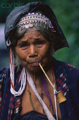 Mulher Lisu,  Tailândia www.calcathai.com
