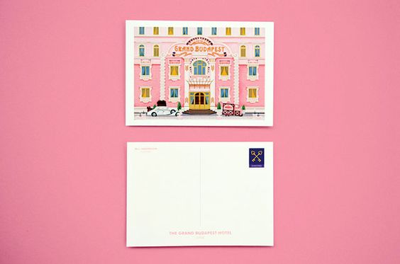 A set of cards created in celebration of Wes Anderson movies | Buro 24/7