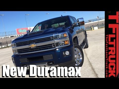 2017 Chevy Silverado HD New 6.6L Duramax First Driving Impressions [Video] - The Fast Lane Truck