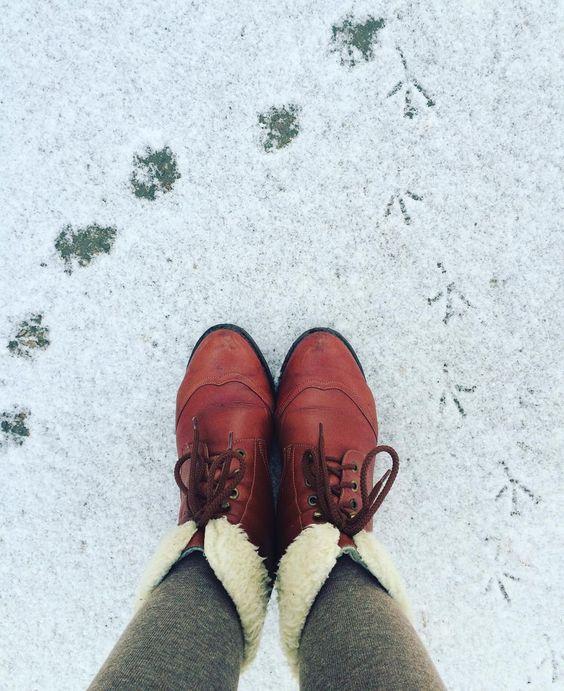 зимние полусапожки