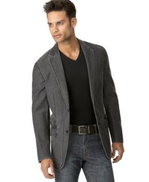 INC International Core Concepts Jacket, Hori Blazer - Mens Blazers ...