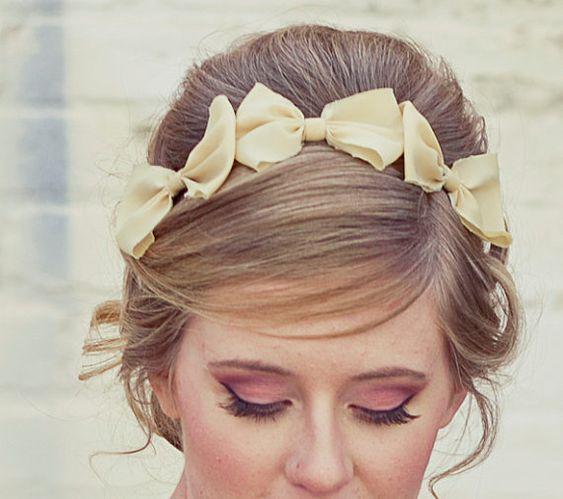 Three little bows, headband
