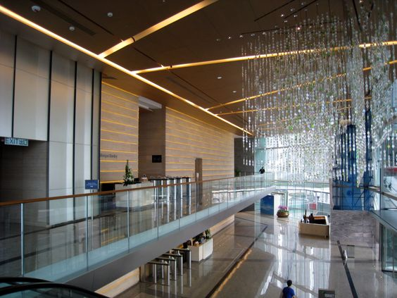 best lobby lighting design buscar con google best lighting for office