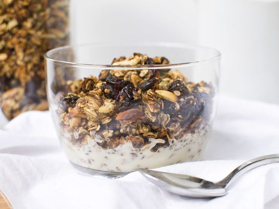 ... granola sin almond granola and more granola salud almonds cherries