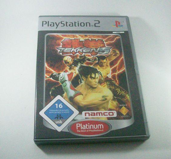 #Tekken 5 #Playstation 2 ( #PS2 ) #Kampfspiel KOMPLETT mit Anleitung
