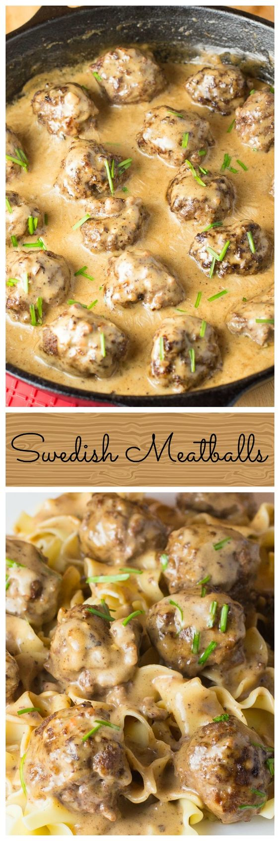 Swedish Meatballs (Canada) ArtandtheKitchen: Swedish Meatballs, delicious meatballs smothered in a rich creamy gravy. I ♥ her photo of these w pasta but I can just see me eating this w lightly golden roasted spuds & broccoli mmm. ♥ that she uses all beef, and worchestershire sauce & dijon mustard (halal brand masterfoods au) mmm ♥
