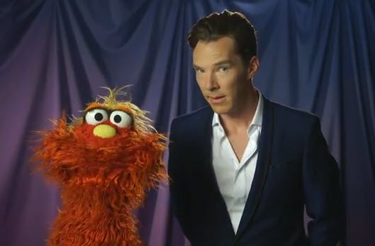 Cumberbatch visits the Muppets