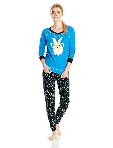 """Kensie """"Bunny with glasses """" thermal - size L"""