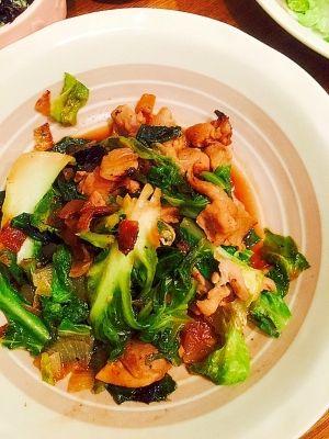 チキンとキャベツと玉ねぎの焼肉のタレ炒め レシピ 作り方 レシピ