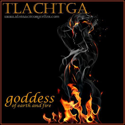 A Samhain Legend | Tlachtga, Goddess of Earth and Fire www.aliisaacstoryteller.com: