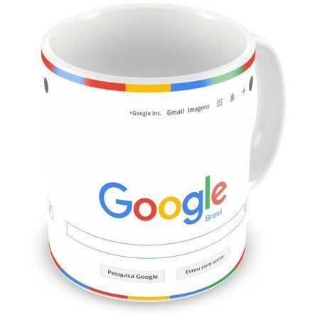 Caneca de Porcelana Google Search Brasil 2015