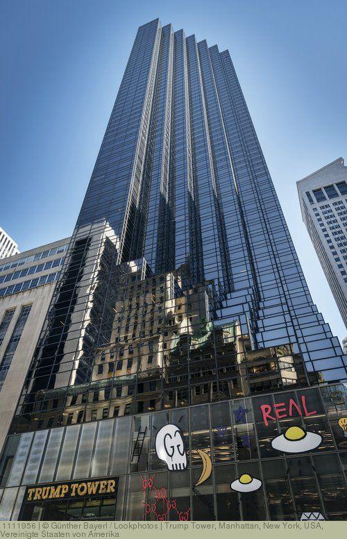 Trump Tower, Manhattan, New York, USA, Vereinigte Staaten von Amerika: