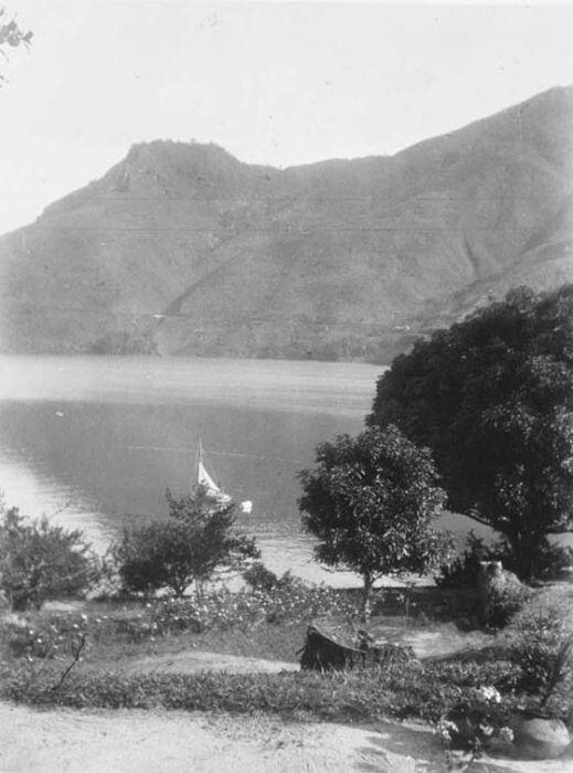 Prapat Aan Het Tobameer Sumatra 1932 Nederland