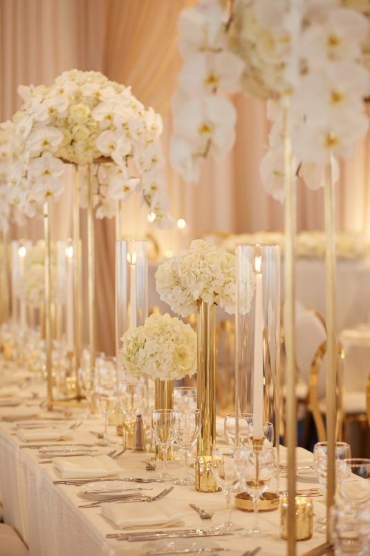 Vibrant White and Gold Wedding Decor Ideas, fad4b4c8b7de8d64b13c13b5befd3ae4