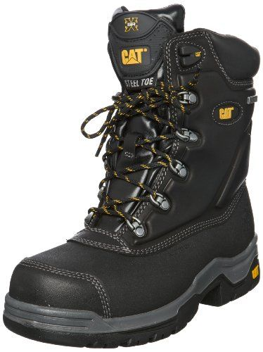 CAT Footwear Supremacy, Men's Work and Safety Boots, Black, 6 UK ...