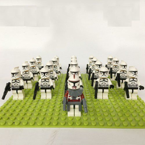 LEGO STAR WARS Compatible 20x Clone Troopers Mini Figures
