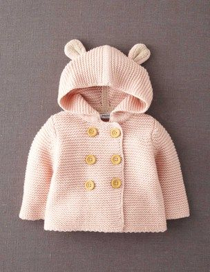 the CUTEST little jacket. loving those little ears. oh my heart!