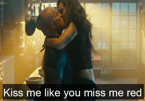 Kiss Me Like You Miss Me Red Kiss Me Movie I Like You Kiss Me