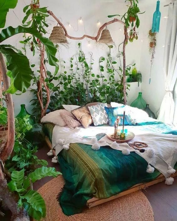 Bedroom Plants Ideas 17 Bedroomplants Bohemian Bedroom Decor Bohemian Bedroom Bedroom Design